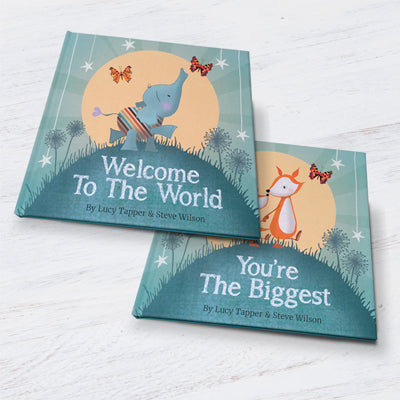 YOU'RE THE BIGGEST - NEW SIBLING GIFT BOOK