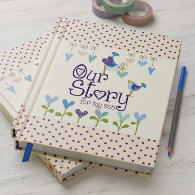 OUR STORY - BIRTH TO 18th YEAR TOGETHER MEMORY JOURNAL