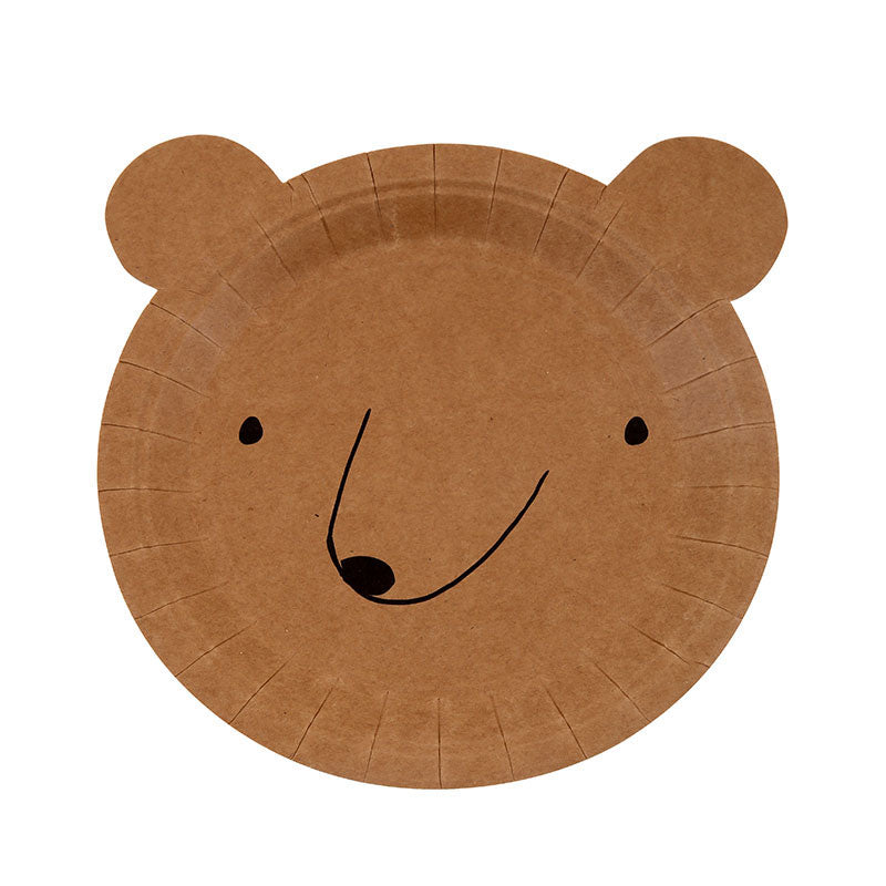 BEAR PARTY PLATES AND NAPKINS