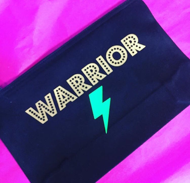 Warrior bolt handy pouch make up bag