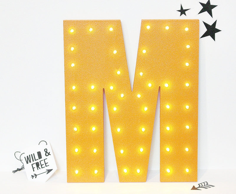 LETTER LED MARQUEE LIGHT