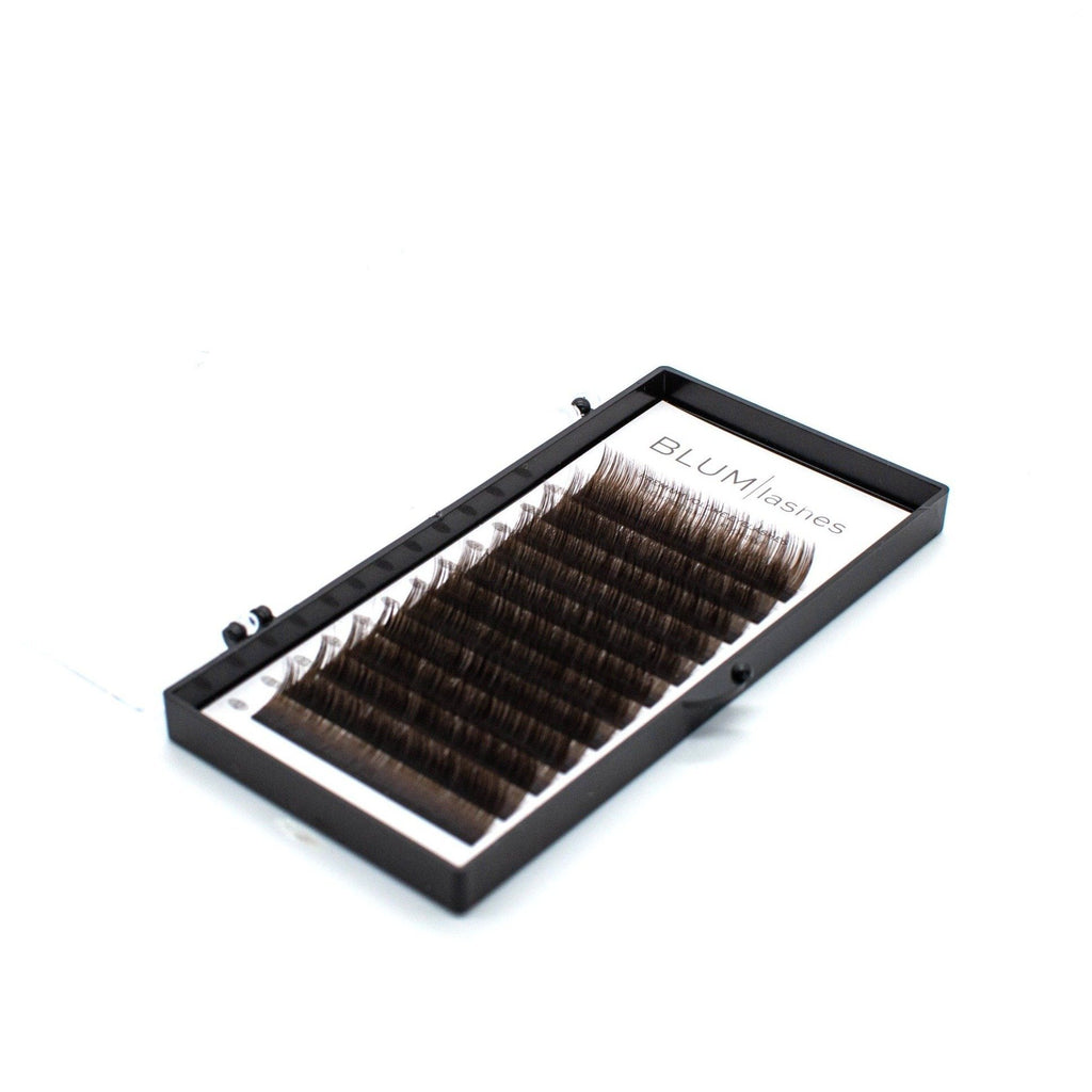 Blum Lashes Dark Brown 0,07 C-curl - Lash Look
