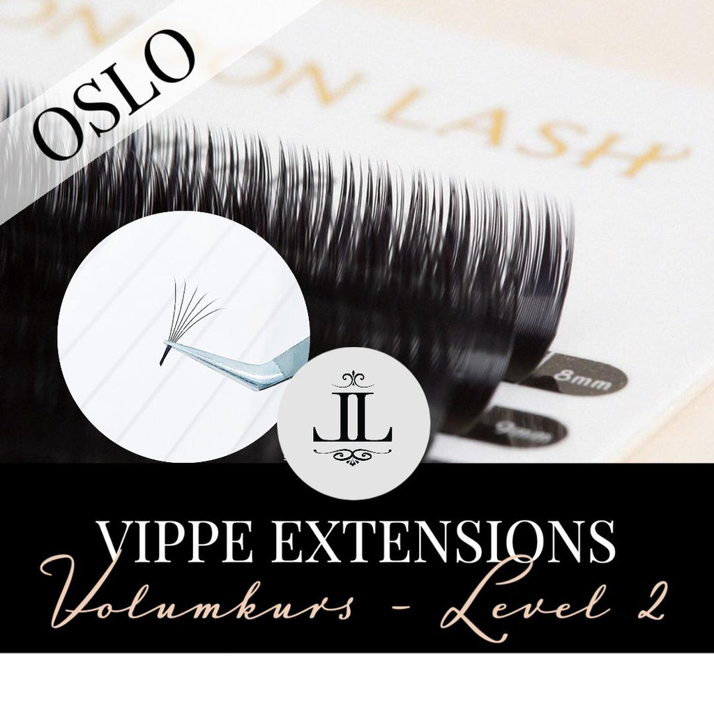 Volum kurs vippe extensions - Lash Look