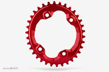 ABSOLUTE BLACK SHIMANO OVAL XT M8000 / SLX M7000 TRACTION CHAINRING