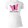 Black Butterfly Signature Fitted Tee - Black Butterfly Beautiful