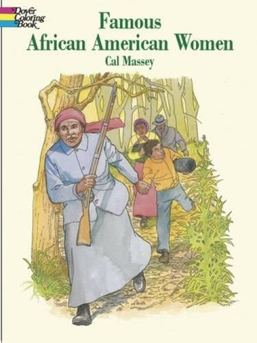 Famous African-American Women (Dover History Coloring Book)