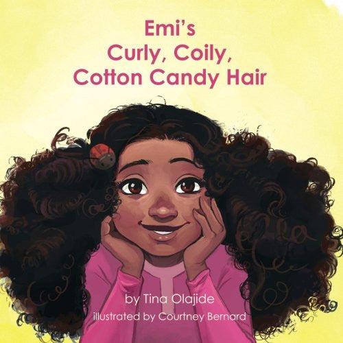 Emi's Curly Coily, Cotton Candy Hair - Black Butterfly Beautiful