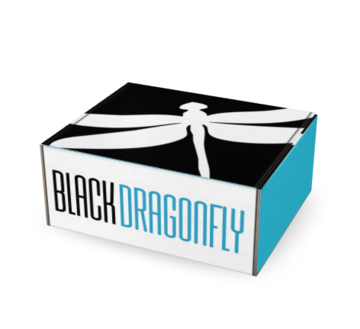 --Dragonfly Box One-Time Gift Box - Black Butterfly Beautiful--