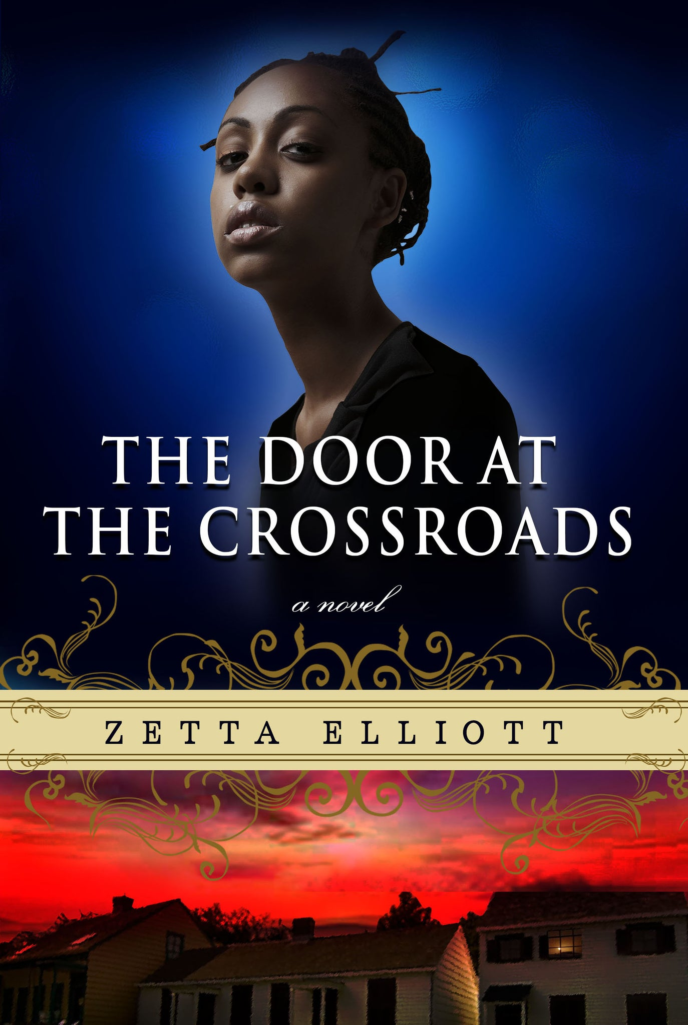 The Door at the Crossroads - Black Butterfly Beautiful