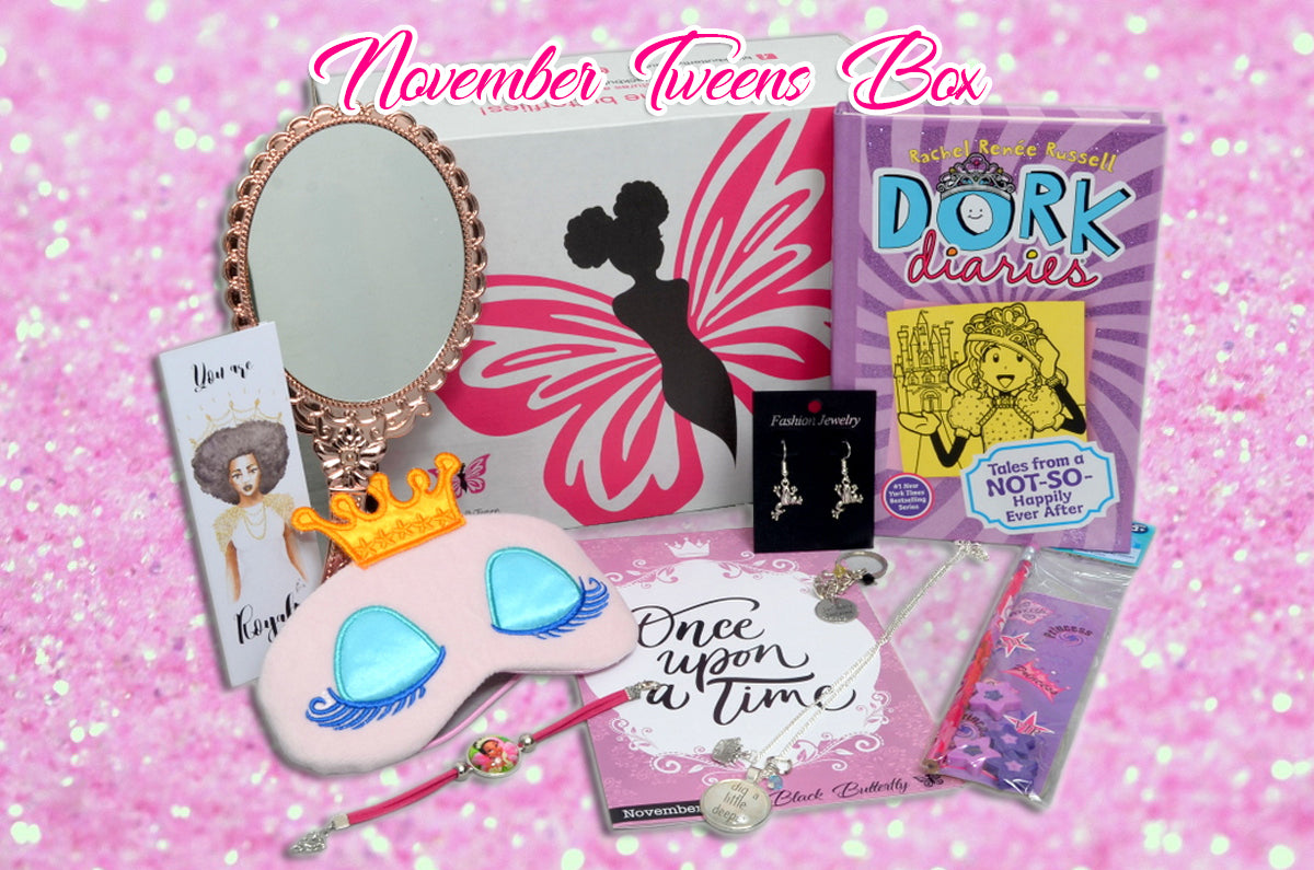 Past Box -  Once Upon a Time... November 2017 - Black Butterfly Beautiful