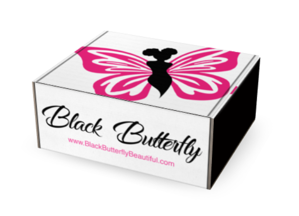 One-Time Black Butterfly Gift Box