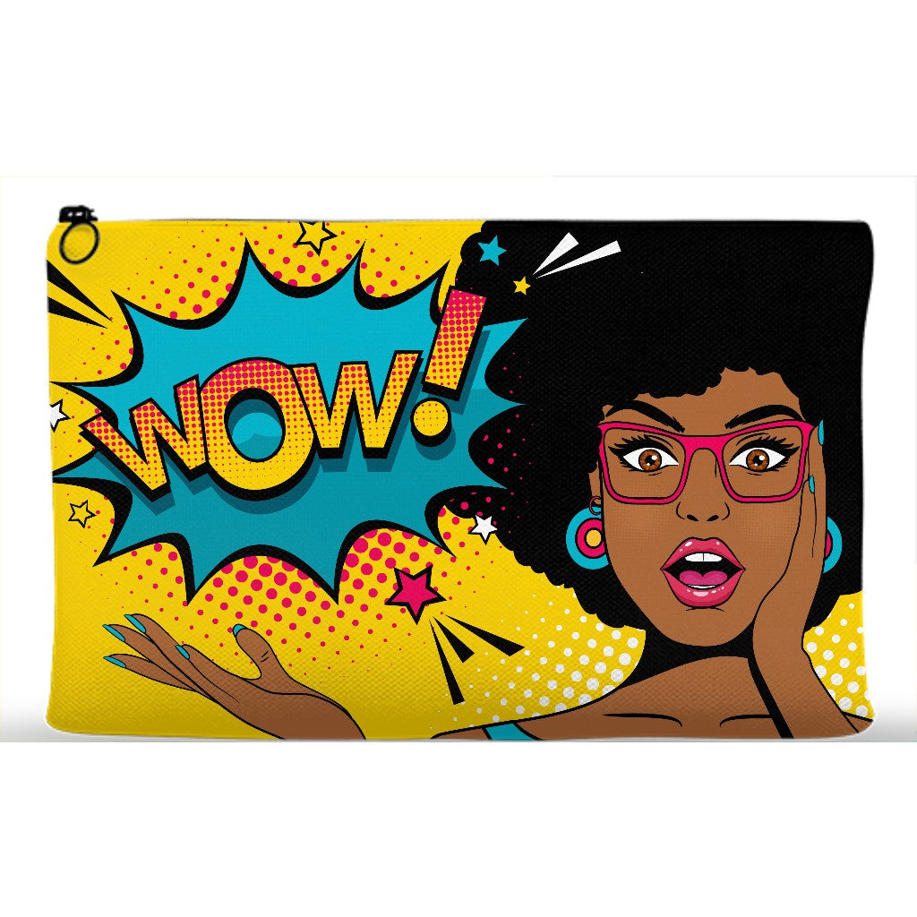 Wow Afro Accessory Pouch - Black Butterfly Beautiful