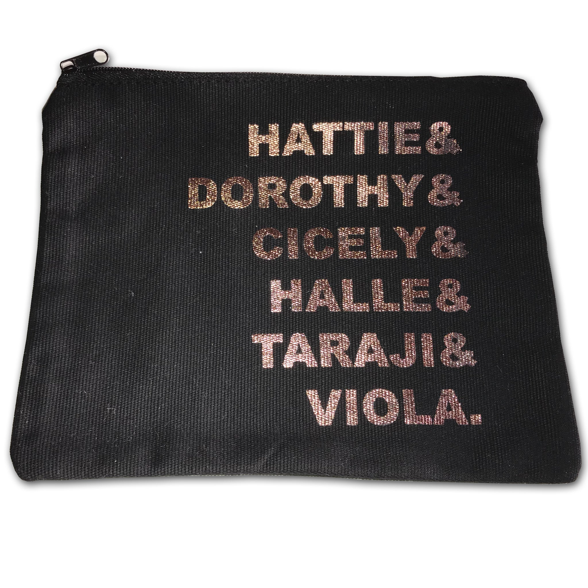 Makeup Bag  - Black Butterfly Beautiful