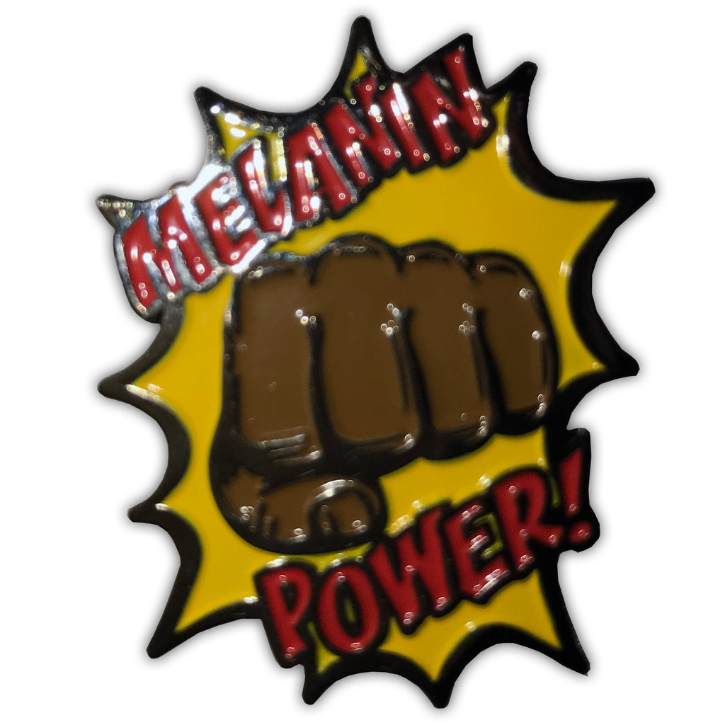 Melanin Power Lapel Pin