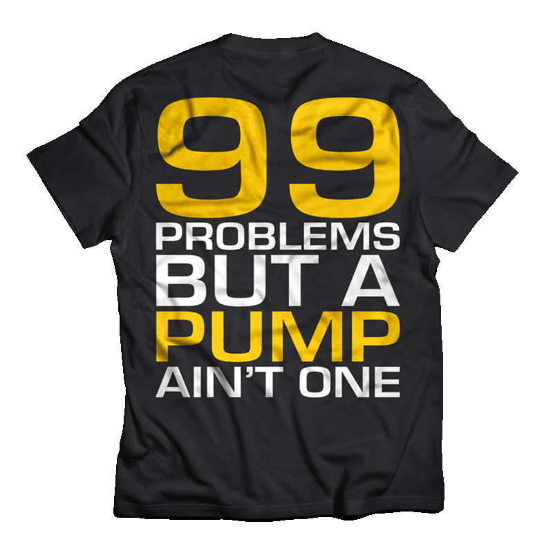 Shirt 99 Problems Dedicated back