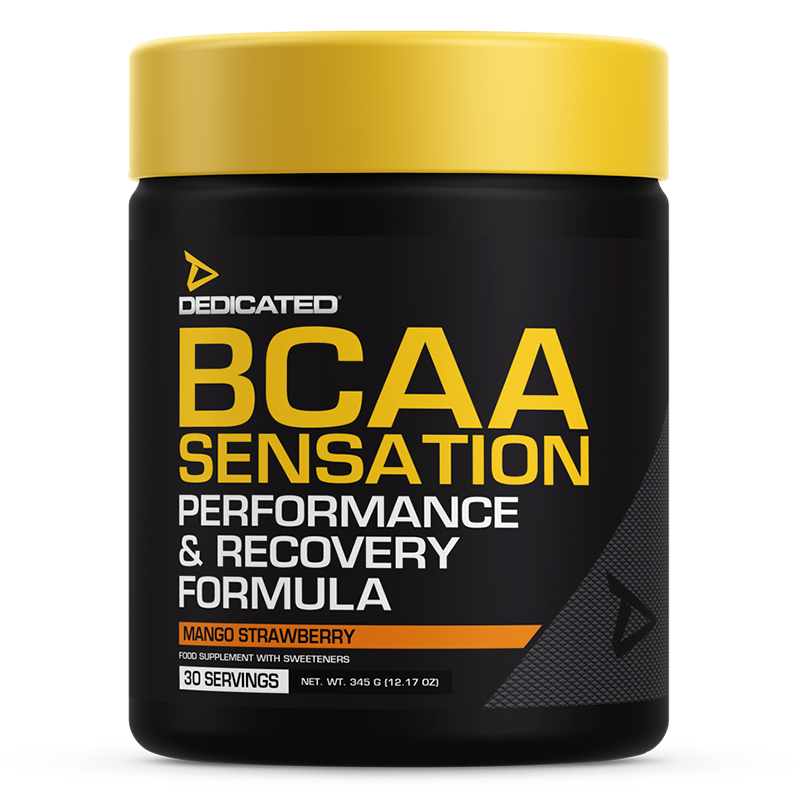 Dedicated BCAA Sensation Mango Strawberry flavour