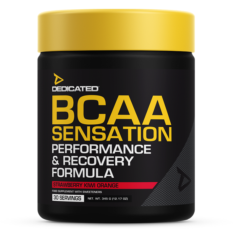 Dedicated BCAA Sensation Strawberry Kiwi Orange Flavour