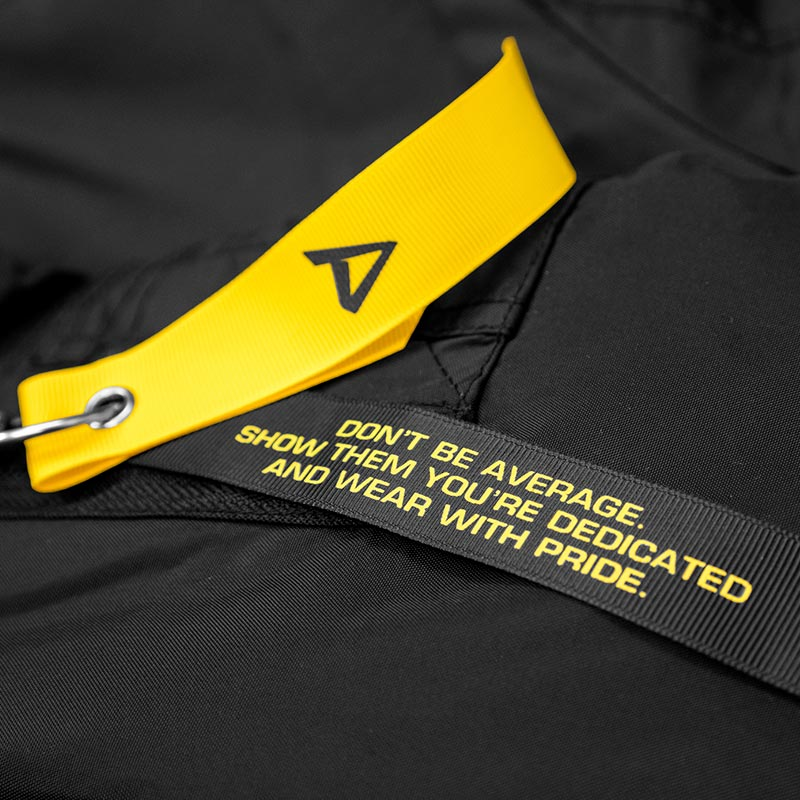 Logo tag on Dedicated Bomber Jacket