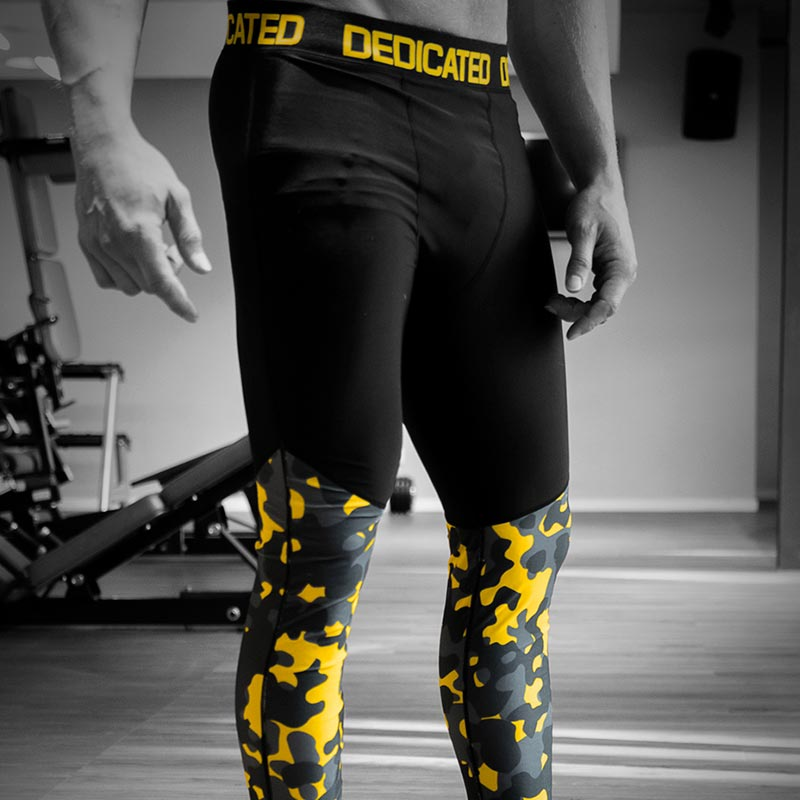 Camo Leggings Men by Dedicated Nutrition