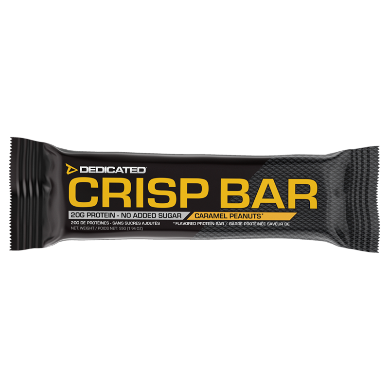 Dedicated Crisp Bar Caramel Peanuts