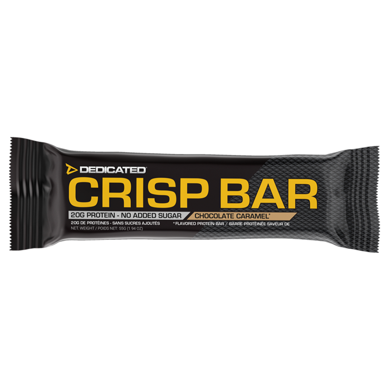 Dedicated Crisp Bar Chocolate Caramel box