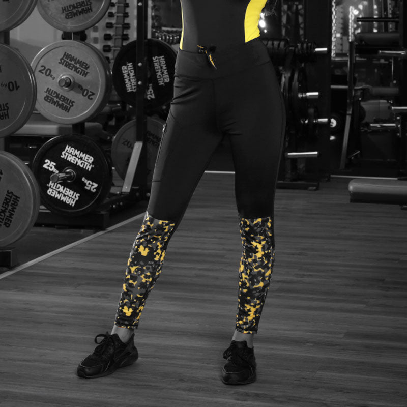 Women Camo Sports Tights