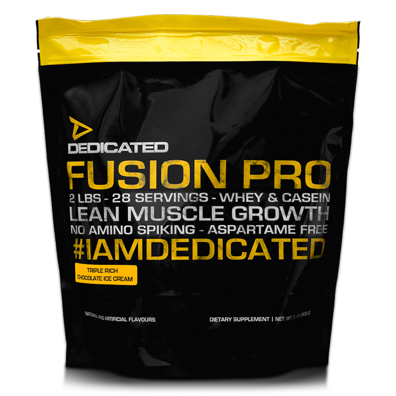 Dedicated Fusion Pro 2lbs Triple Rich Chocolate flavour