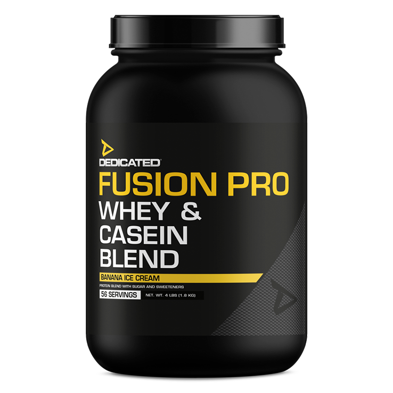 Dedicated Fusion Pro 4lbs Banana Ice Cream flavour