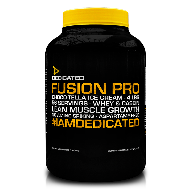 Dedicated Fusion Pro 4lbs Choco-Tella Ice Cream flavour