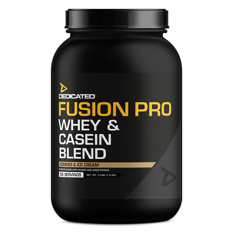 Dedicated Fusion Pro 4lbs Cookies Ice Cream flavour