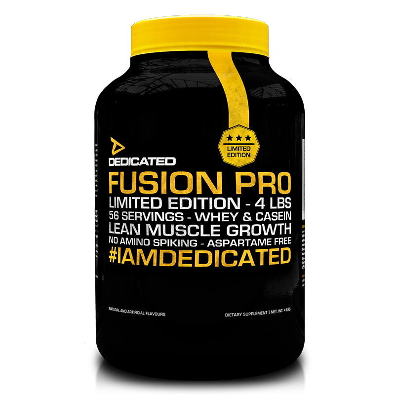 Dedicated Fusion Pro 4lbs Limited Edition