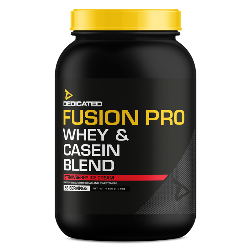Dedicated Fusion Pro 4lbs Strawberry Ice Cream flavour