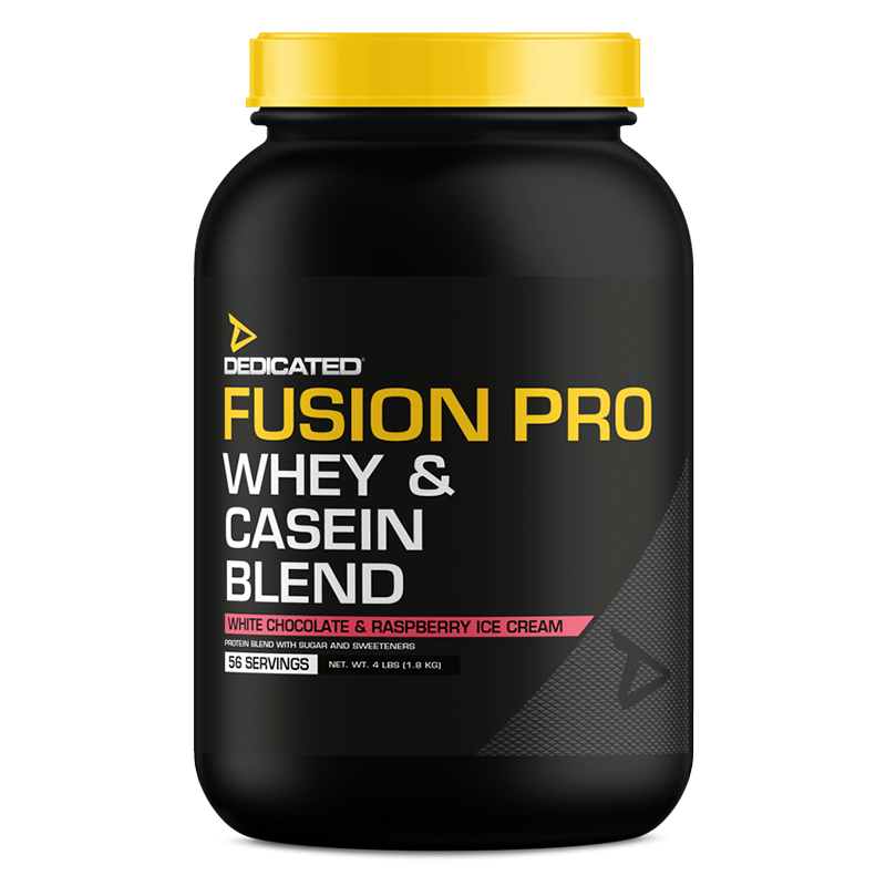 Dedicated Fusion Pro 4lbs White Chocolate & Raspberry Ice Cream flavour