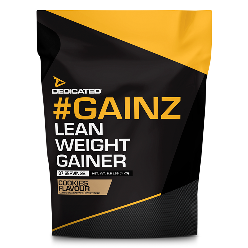 Dedicated Gainz Cookies with Free T-Shirt