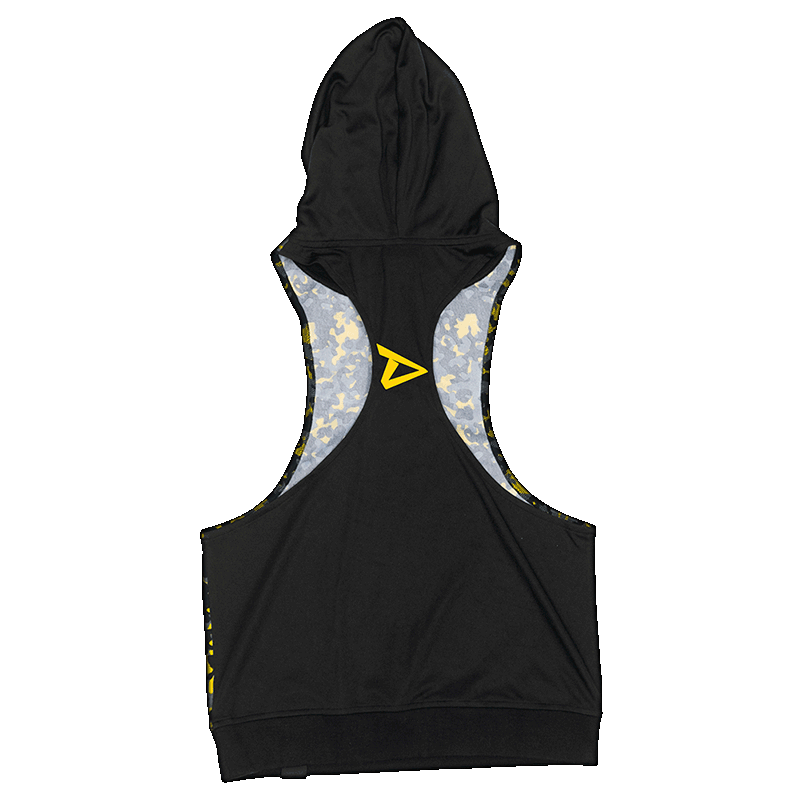 Hooded Stringer with Dedicated logo on back side
