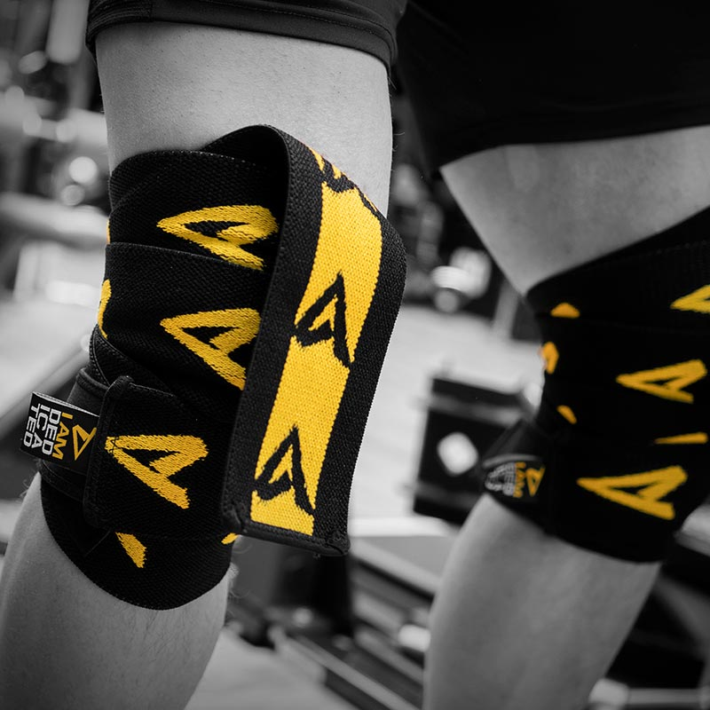 Knee Wraps by Dedicated Nutrition