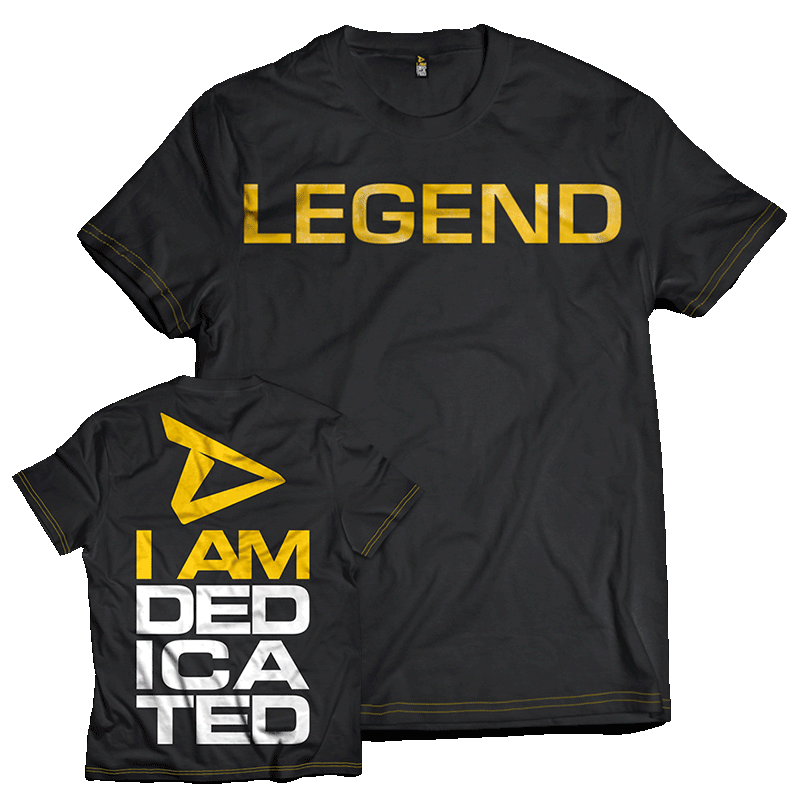 Dedicated T-Shirt Legend