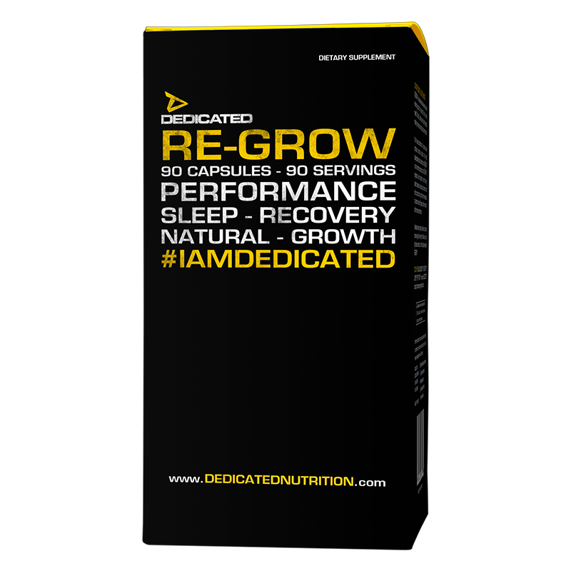 Dedicated Re-Grow - Sleep and recovery supplement