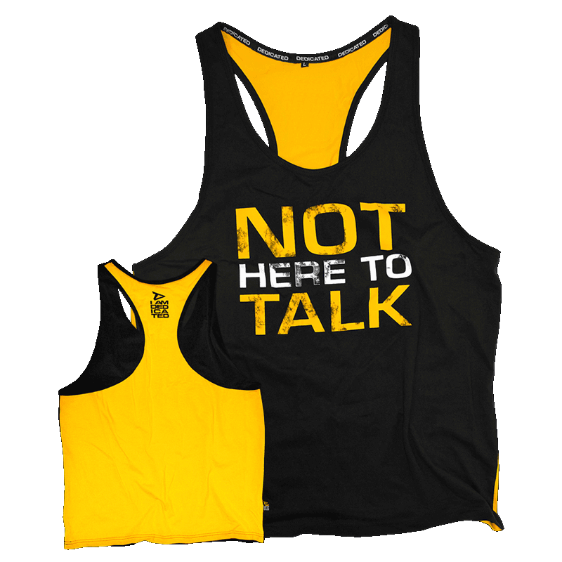 Stringer (Yellow Back) - Not Here To Talk