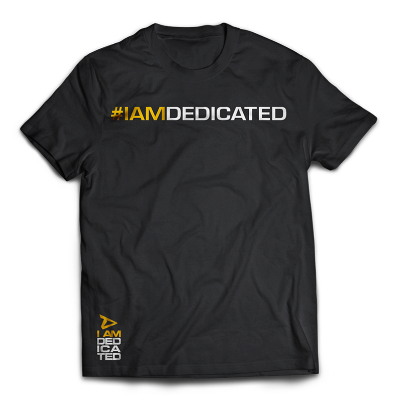 Dedicated Shirt Get It Done front