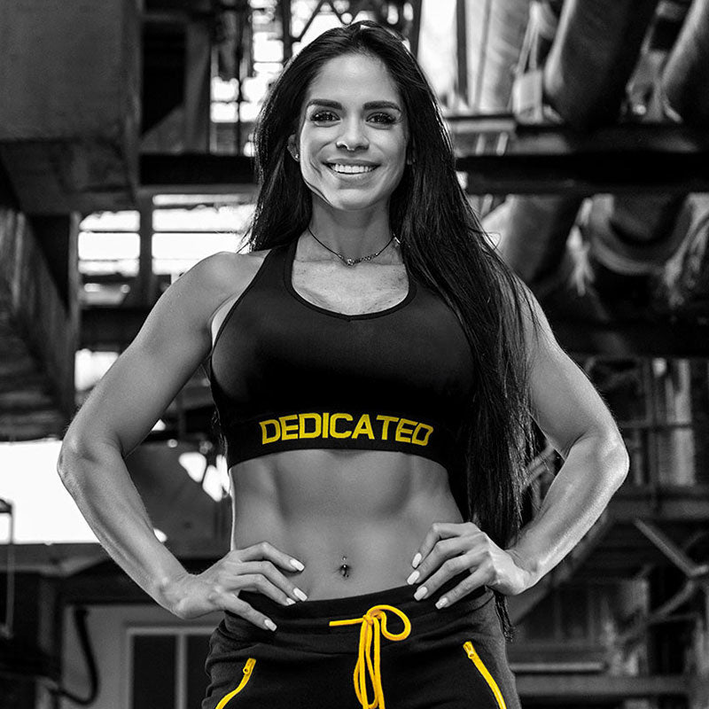 Dedicated Women Push-Up Sports Bra worn by Michelle Lewin