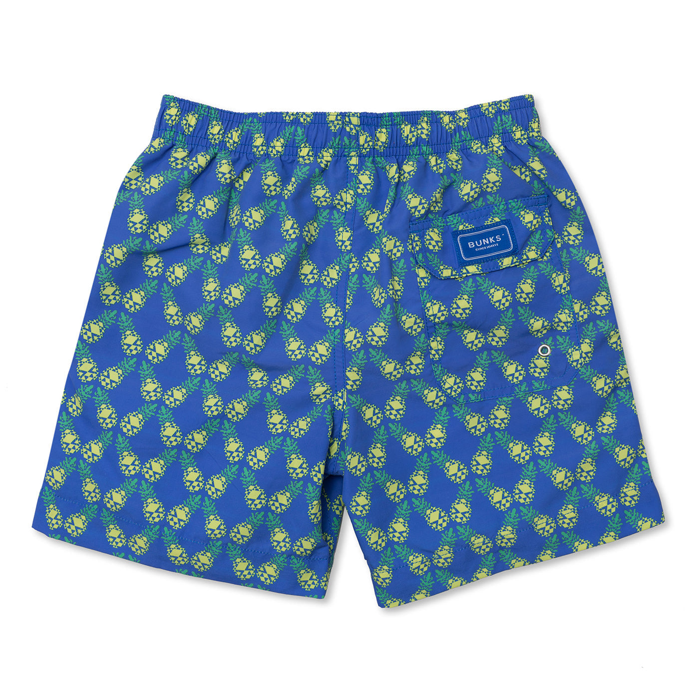 Geo Tilted Pineapple Swim Shorts