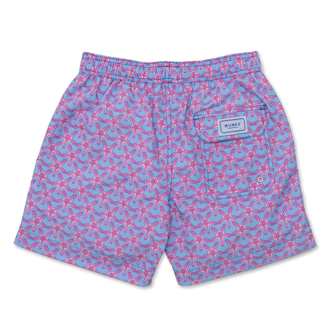 Starfish - Light Blue / Coral Pink
