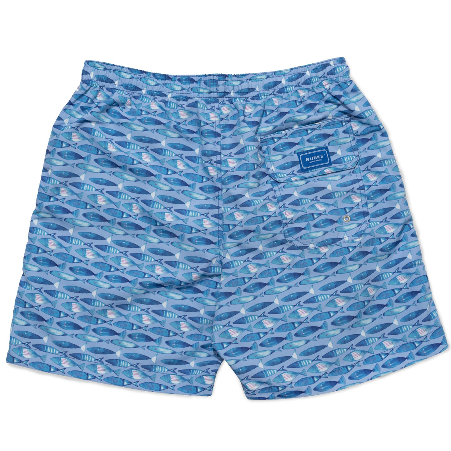 Swimming Fish Swim Shorts - Blue