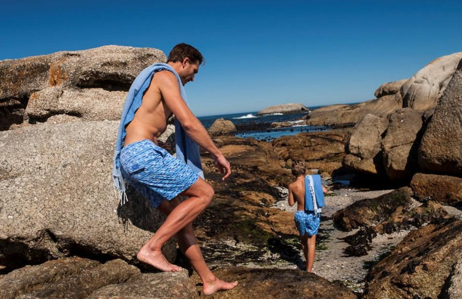 French Fouta Towel - BUNKS | Swimming Shorts For Boys & Men