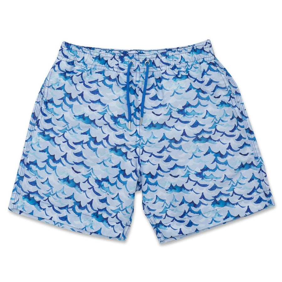 Inky Wave Swim Shorts freeshipping - BUNKS | Swimming Shorts For Boys & Men