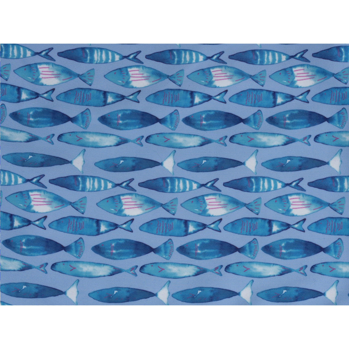 Swimming Fish - Blue - Mens