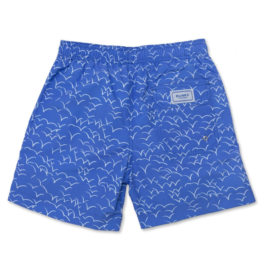 Unda Seagulls Swim Shorts - BUNKS | Swimming Shorts For Boys & Men