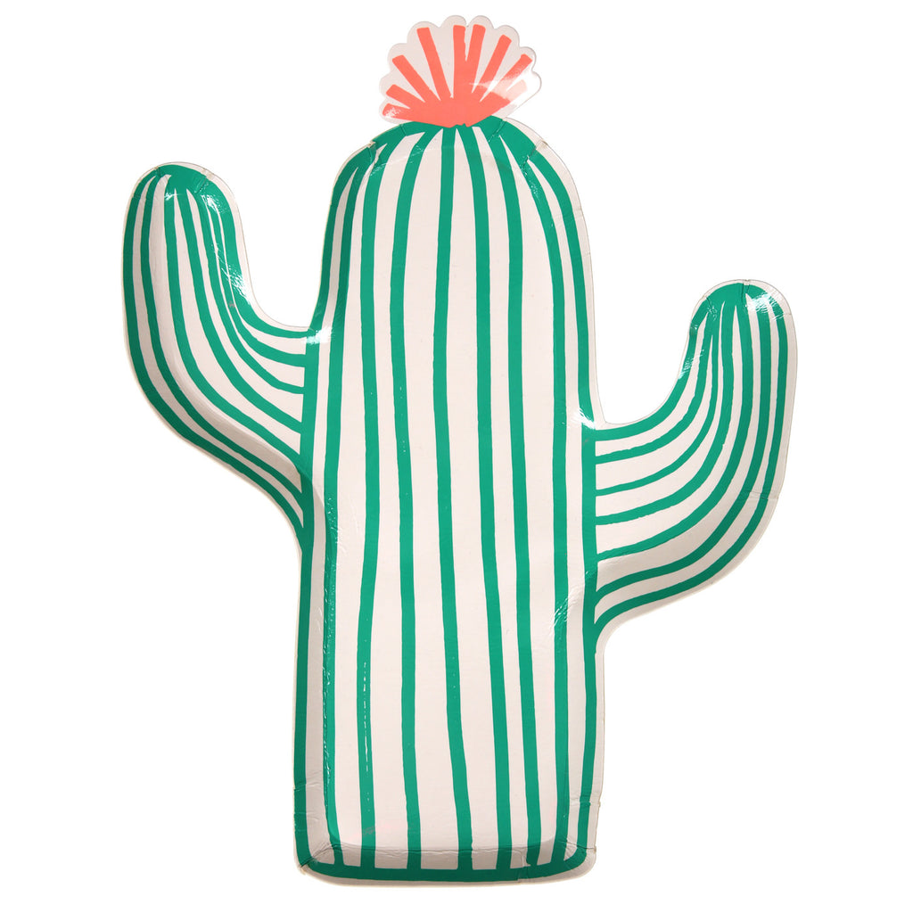 Cactus Plates (Pack of 12)