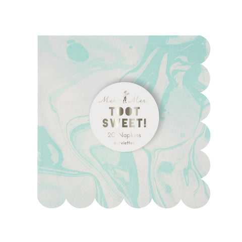 Marble Mint Napkin (Pack of 20)